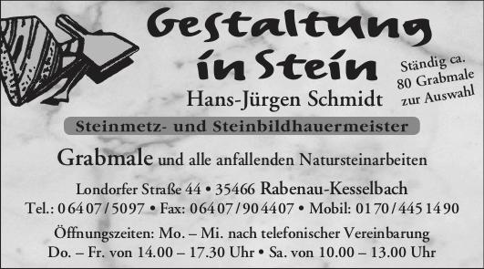 Gestaltung in Stein