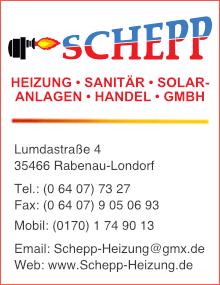 SCHEPP Heizung-Sanitär-Solaranlagen-Handel-GmbH, besuchen Sie uns...